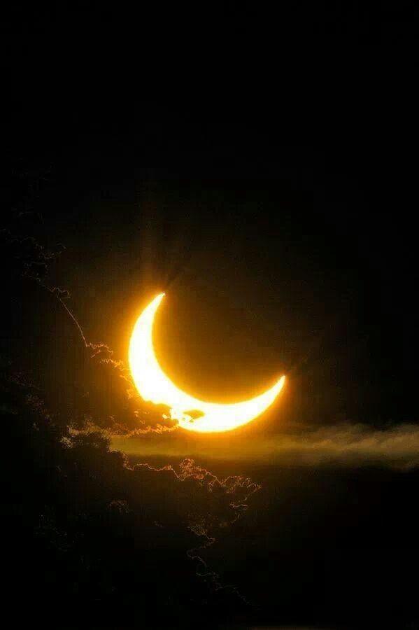 luz da lua crescente