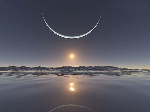 lua nova muito linda