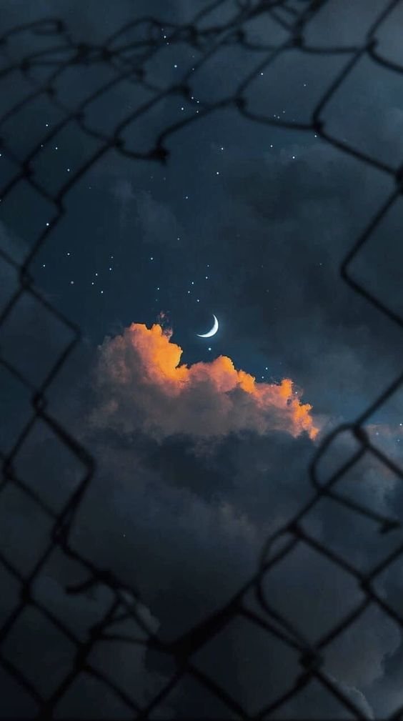 papel de parede, céu a noite