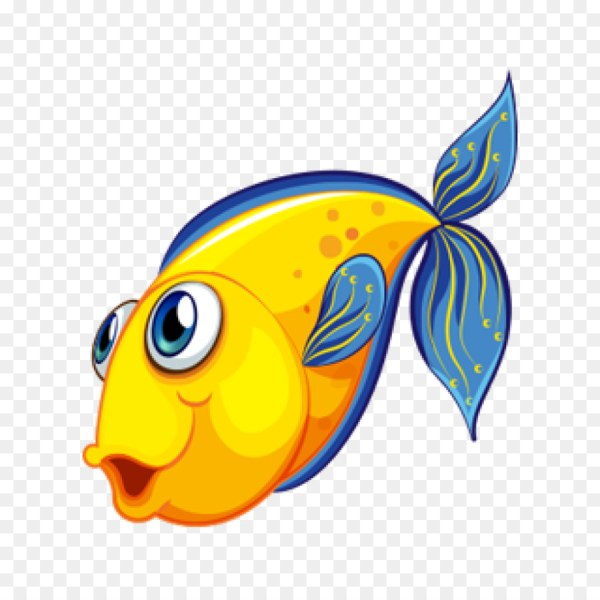 Desenho um peixinho adorável.