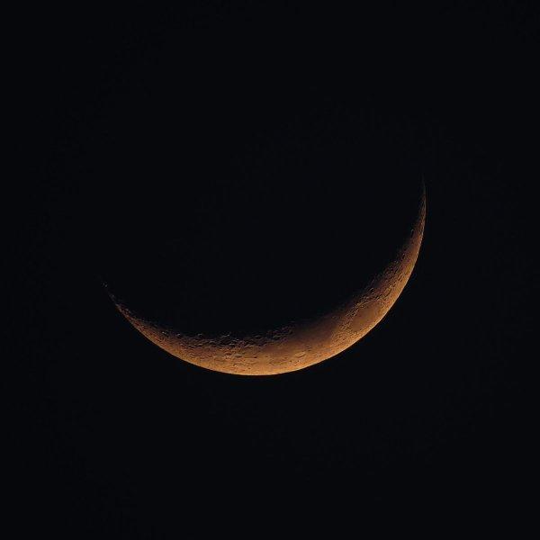 o escuro da lua nova