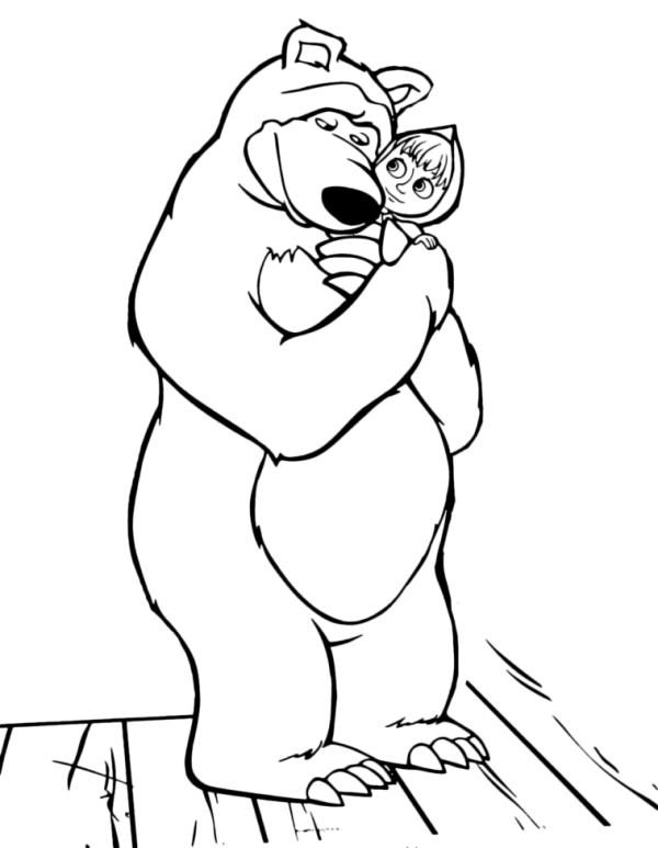 marsha e urso
