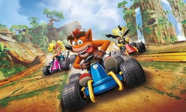 crash em carros para videogame
