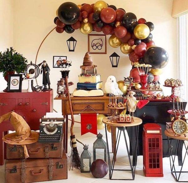 Lindas imagens de decoração do harry potter