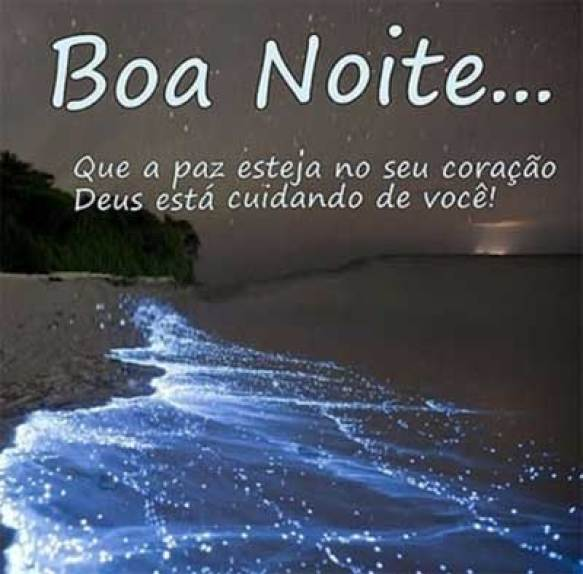 Imgens de boa noite com Deus no coração