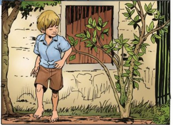 Imagem fofa do menino.