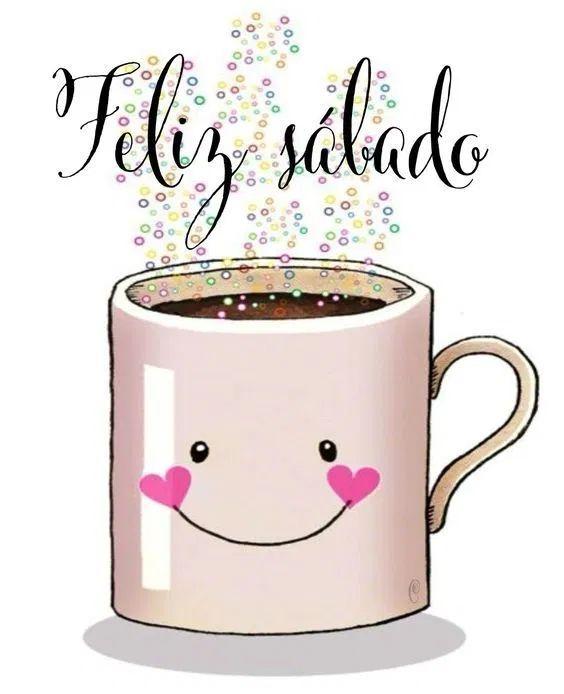 Feliz sábado com um café gostoso.