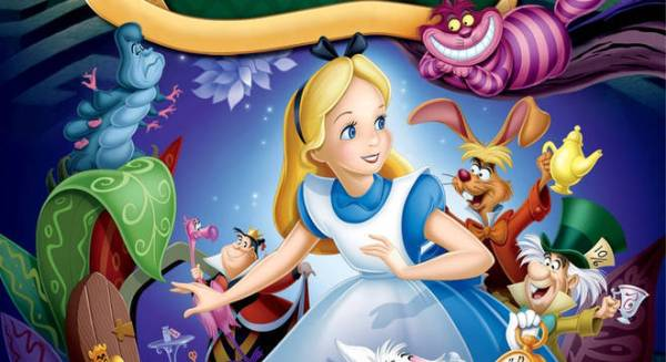 Alice no pais da maravilhas.