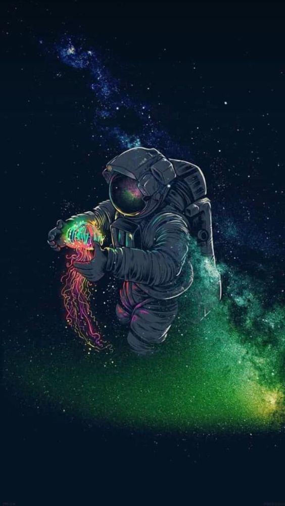 Papel de parede astronauta