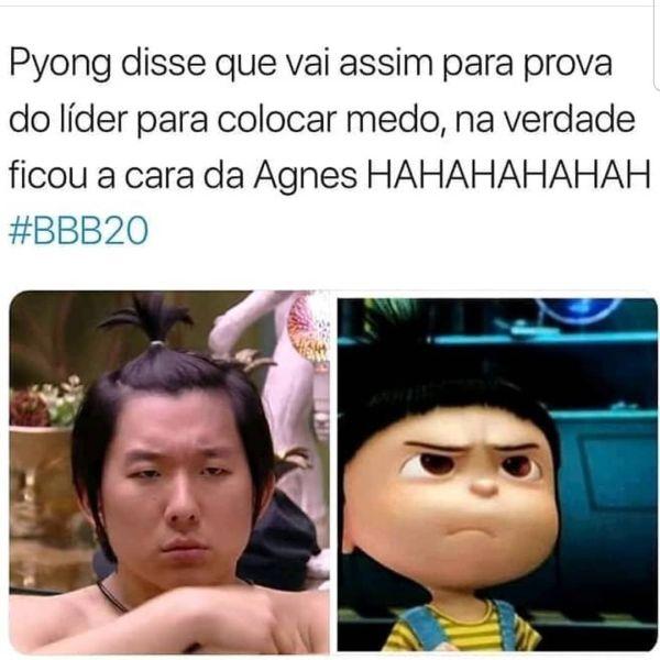 O meme divertido do BBB20.