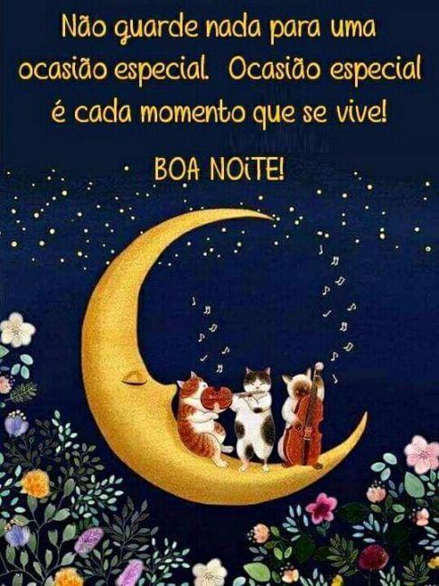 boa noite linda e amor