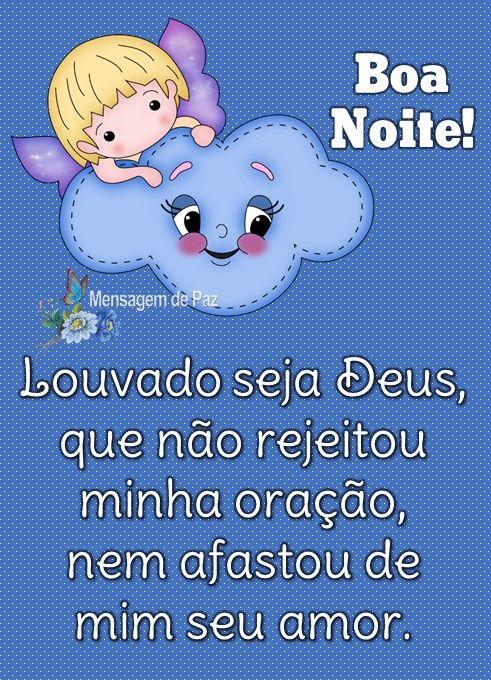 boa noite louvado seja Deus