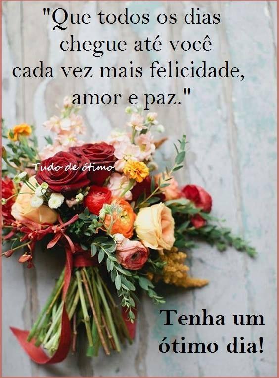 Bom dia de amor e paz