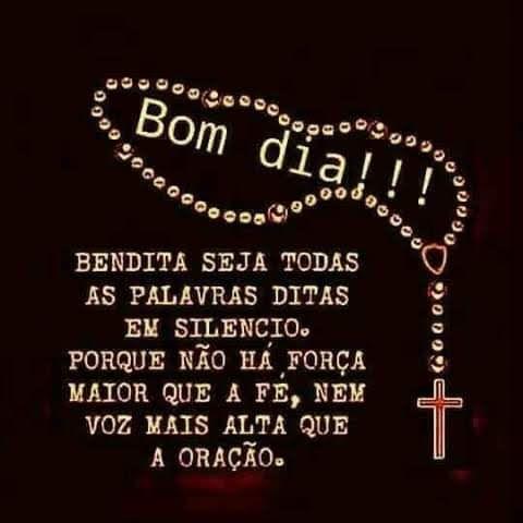 Bom dia oração