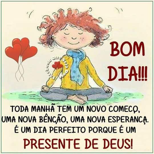 Bom dia presente de Deus