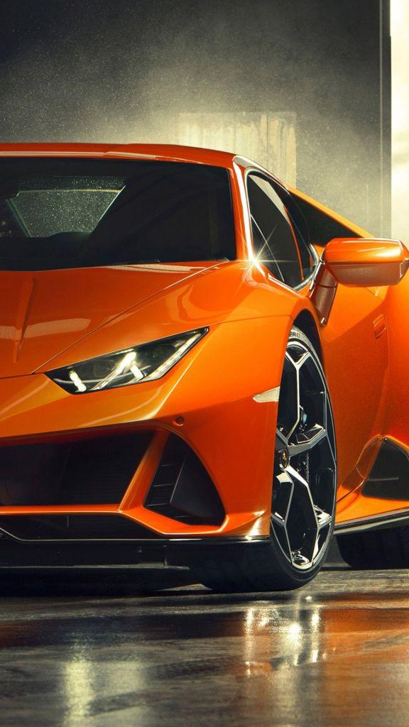 Carro laranja papel de parede.