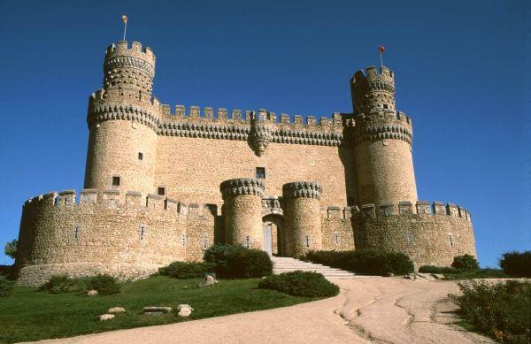 castelo medieval antigo