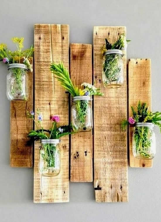 bonita decoração de jardim