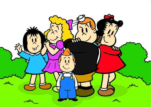 imagens dos desenhos infantis do clube luluzinha