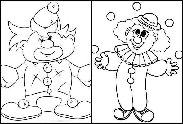 Desenhos para crianças baixar e colorir