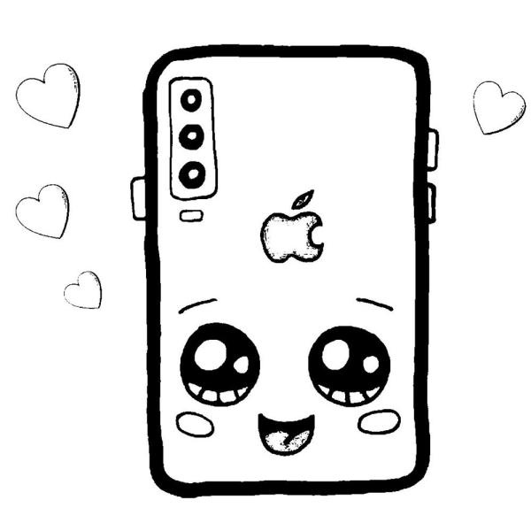 celular kawai fofo