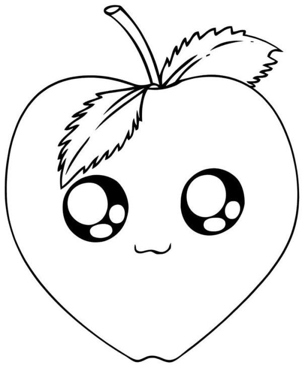 fruta fofa kawaii