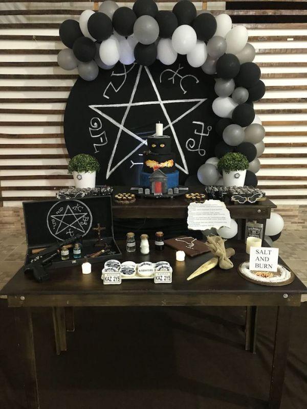 Imagem de decoração inspiradas na series Supernatural