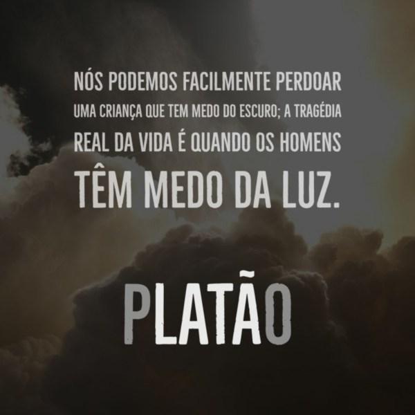 Frase do filósofo Platão.