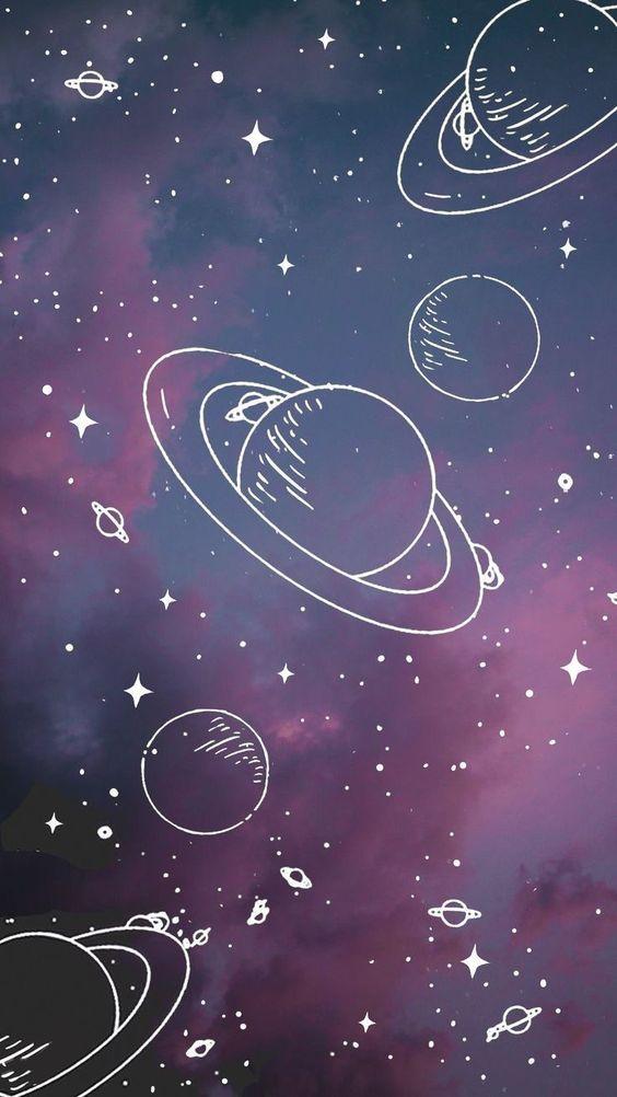 Wallpaper planetas tumblr