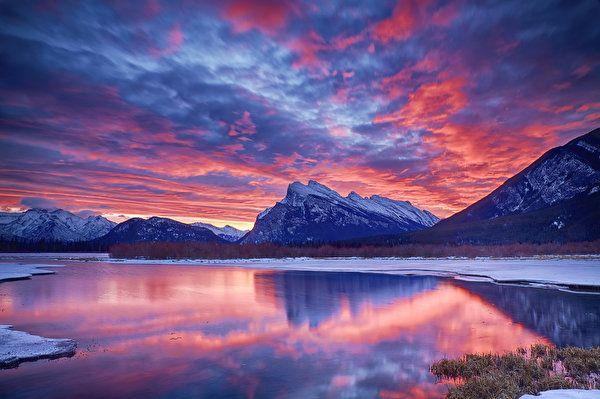 linda imagem de paisagem
