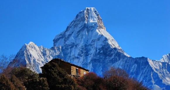 Montanhas com lindas paisagens