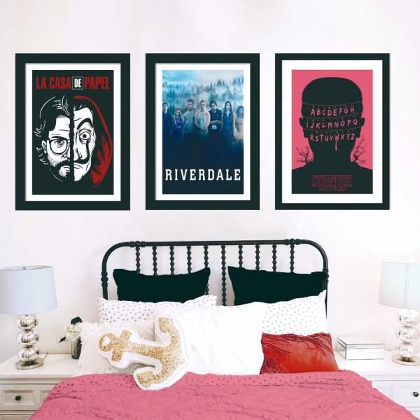 Inspiração de quarto da série ''la casa de papel. ''
