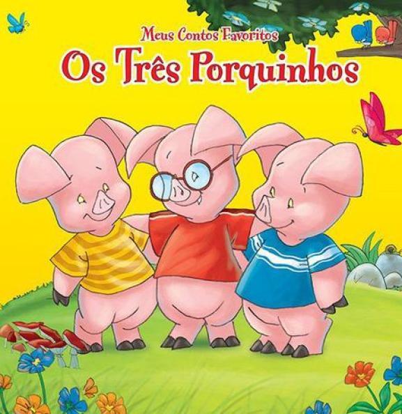 Livro ''Os três porquinhos''