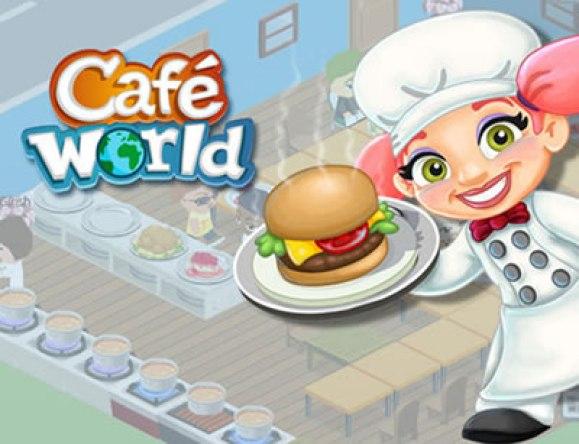Café world jogo ótimo de se jogar.