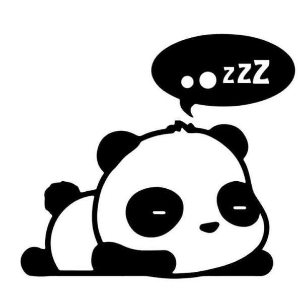 Imagem de desenho panda.