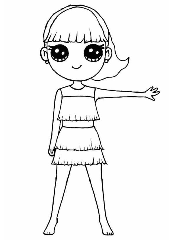 dançante menina kawaii tumblr