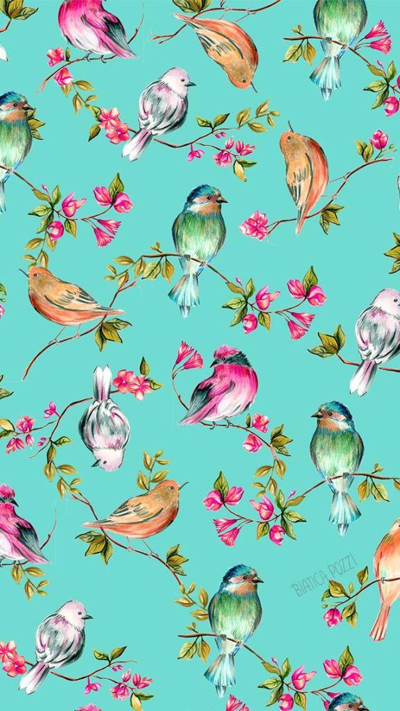 pássaros para papel de parede
