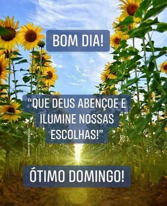Bom dia Deus ilumine