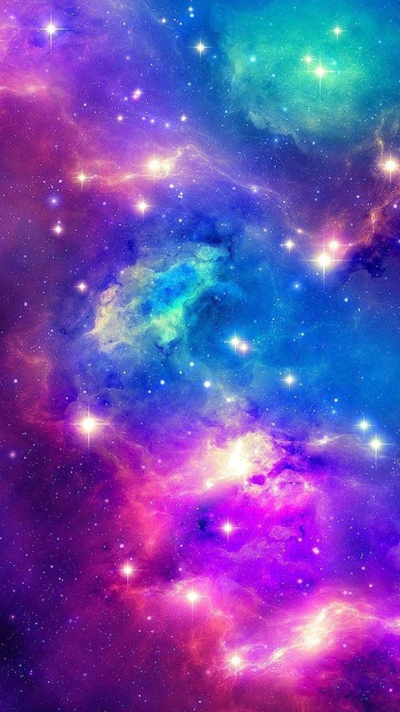 Papel de parede para celular de galáxia