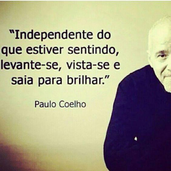 Mensagem de Paulo Coelho