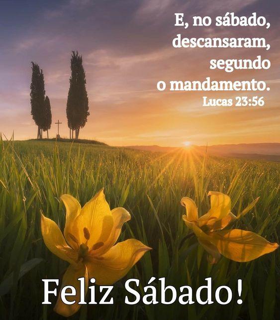 Feliz Sábado com versículo