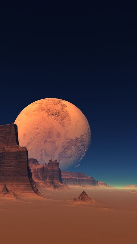 Papel de parede lua