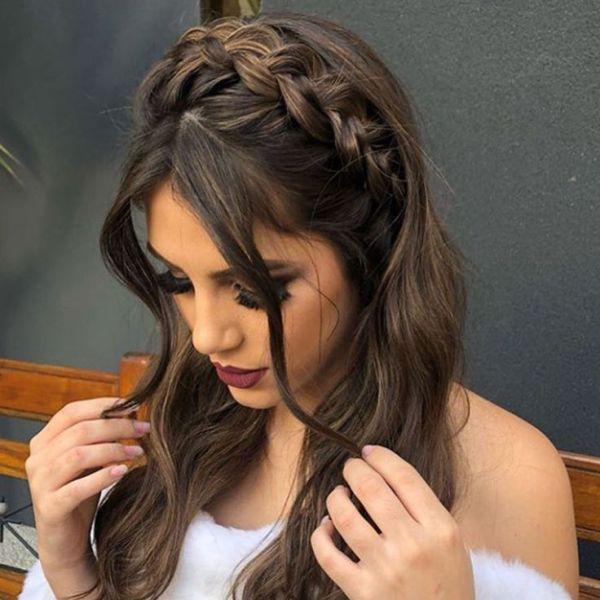 Tranças lindas para penteados