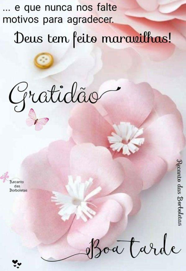 grato Boa tarde Com Deus