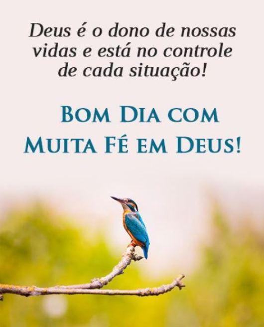 Bom dia reflexão com Deus