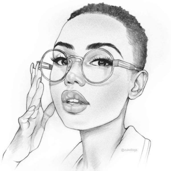 desenho realista muito bonito