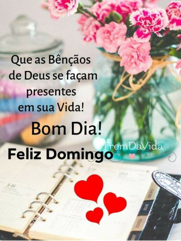Feliz domingo de bênção