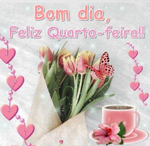 Bom dia feliz quarta feira