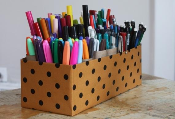 artesanato porta lápis