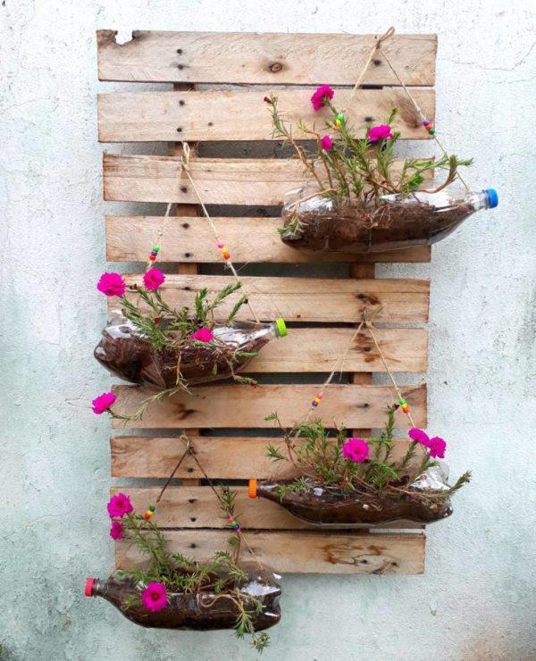 artesanato suspense de jardim
